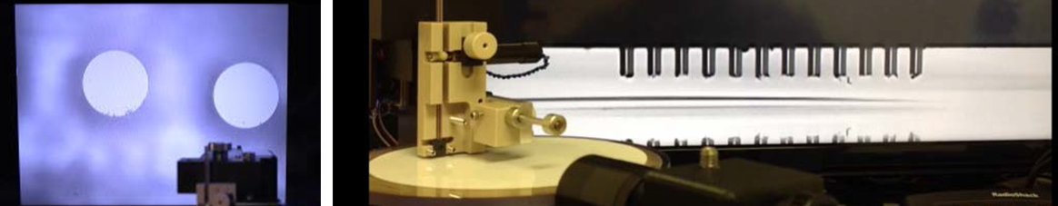 In-line end face inspection and profile viewing