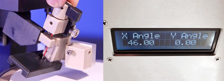 Cila 2.0 Precision Angle Adjustability with Digital Readout